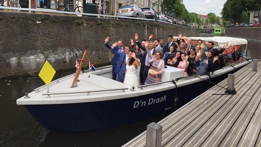 Trouwen op het water in Den Bosch