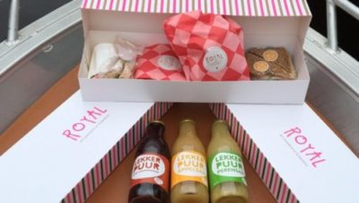 picknicken met lunchpakket van Bakkerij Royal