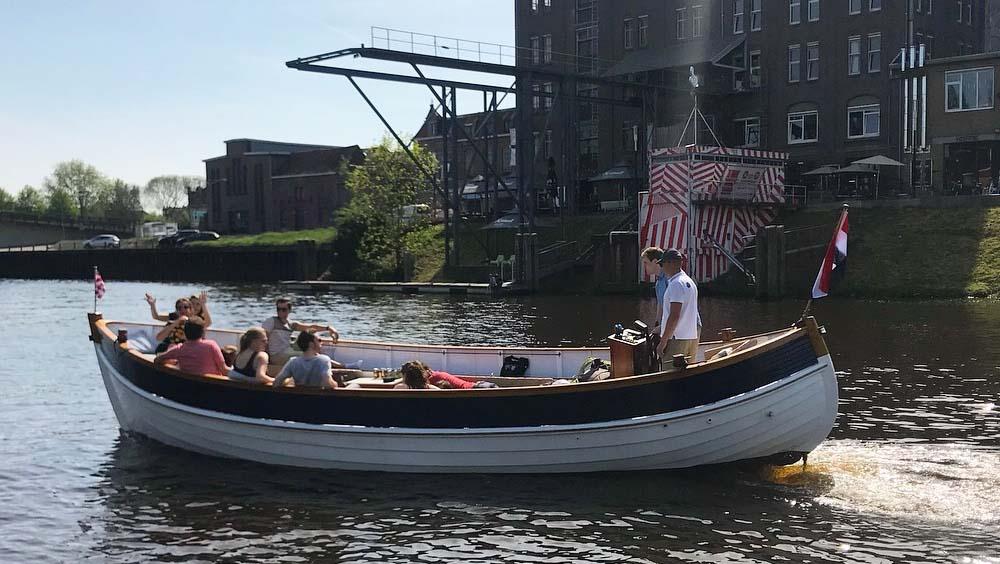 Rondvaart Den Bosch met D'n Bourgondier van De Vlotte Vloot