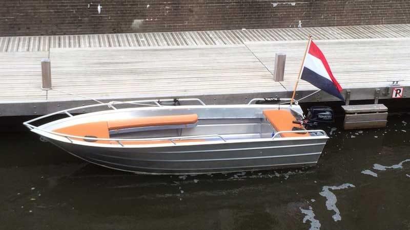 zelf varen - sloep huren Den Bosch