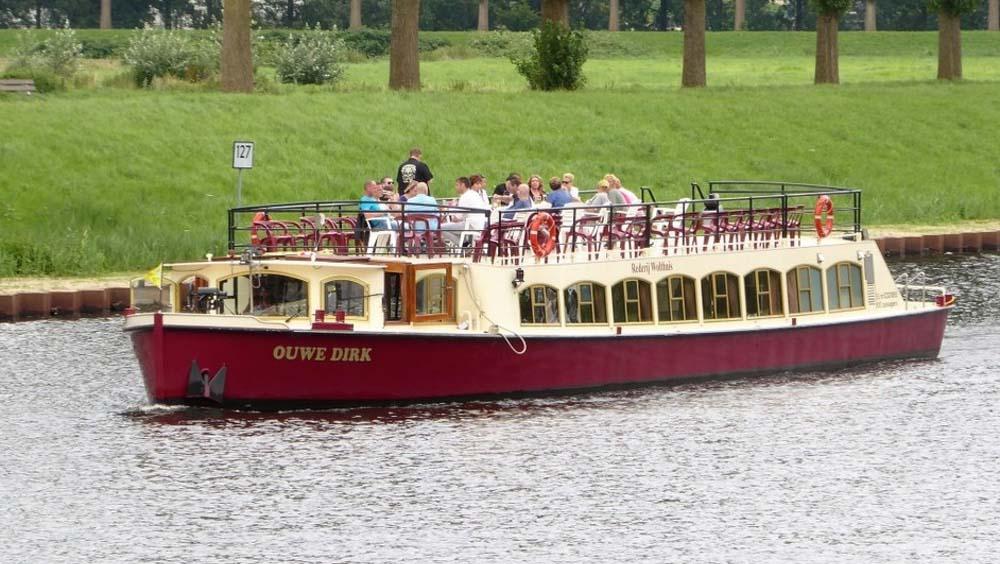 Rondvaart Den Bosch met De Vlotte Vloot