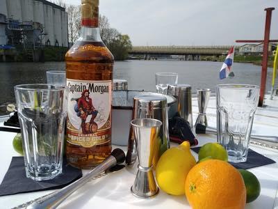 Cocktail workshop op 't water