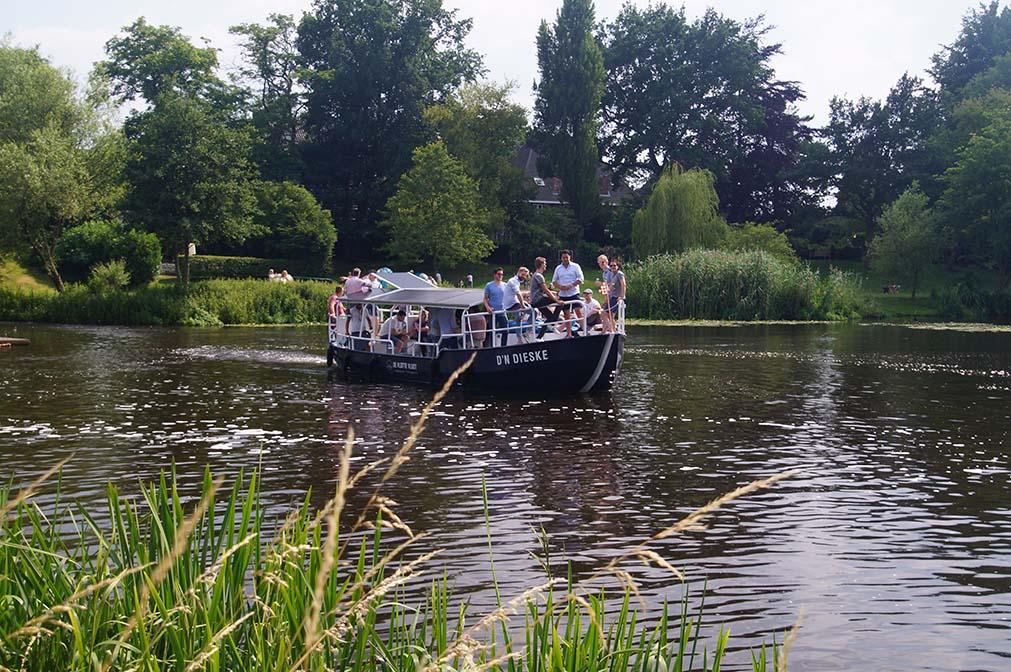 elektrische rondvaartboot D'n Dieske in Den Bosch