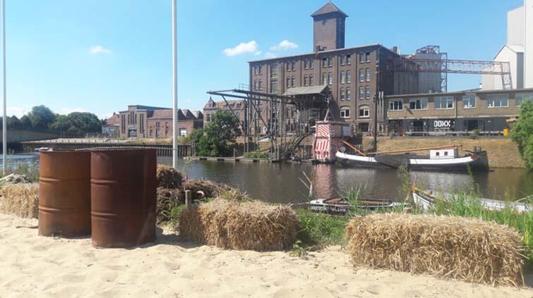 Locatie De Vlotte Vloot aan de Vaaltweg in 's-Hertogenbosch