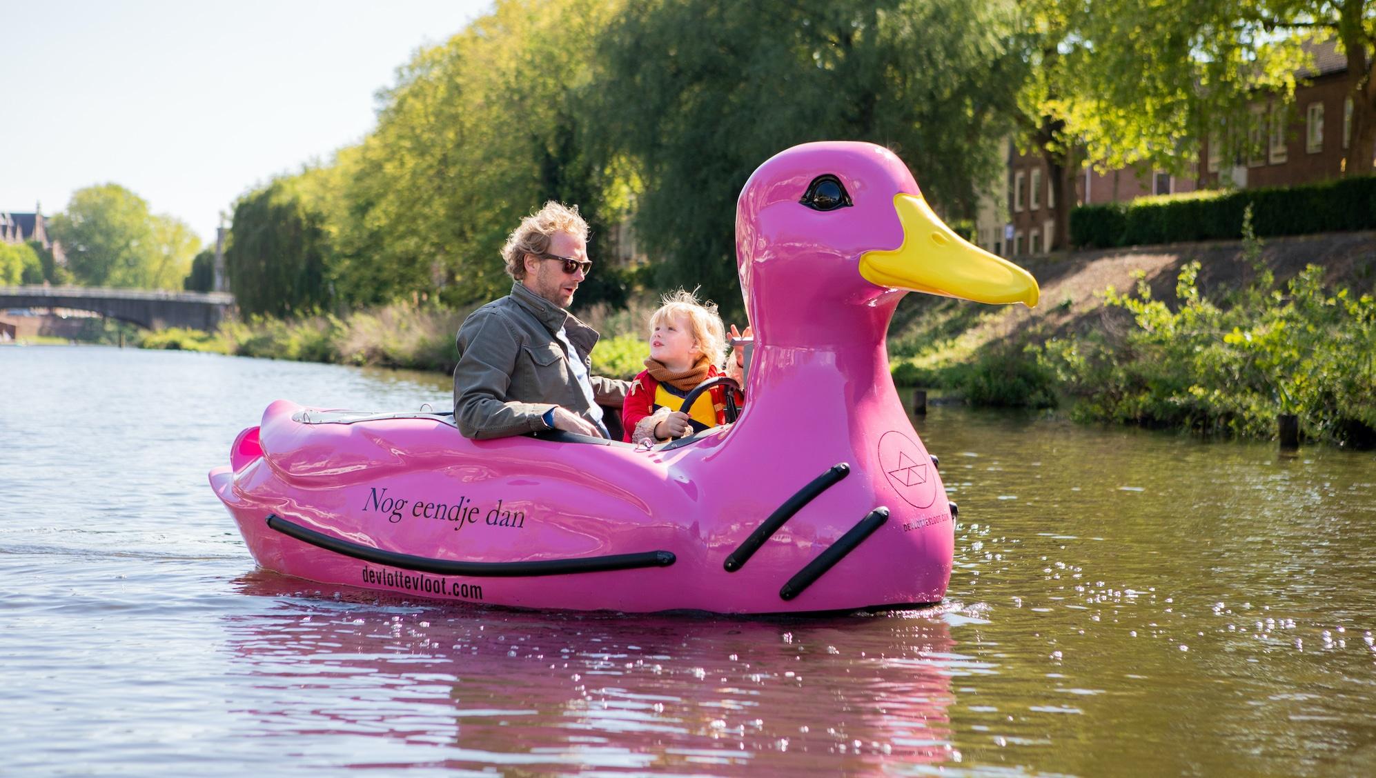 © fotograaf Evita Copier - zelf varen in een eend in Den Bosch