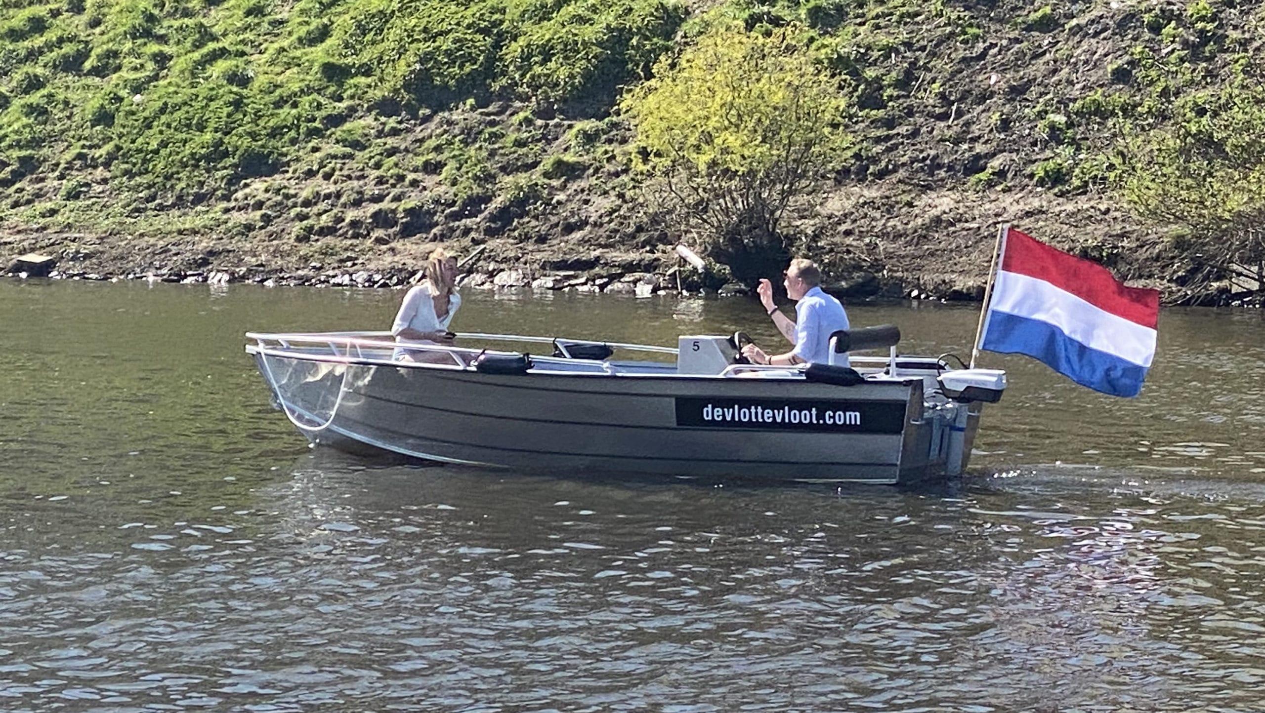 7 persoons zelf varen in Den Bosch