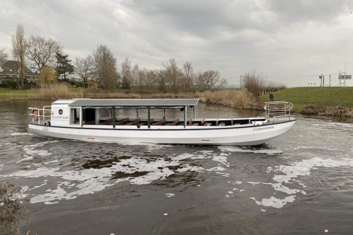 Elektrische rondvaartboot van De Vlotte Vloot