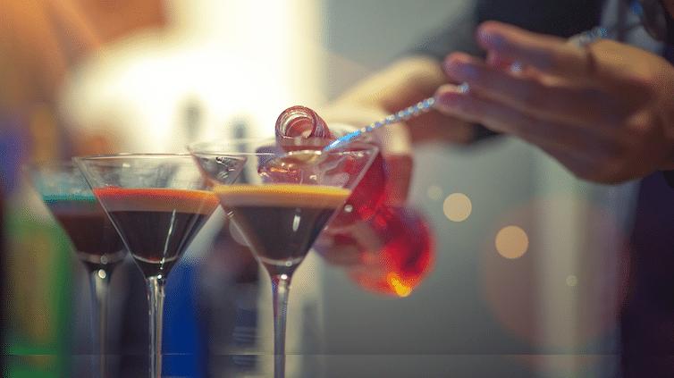 cocktail workshop aan boord